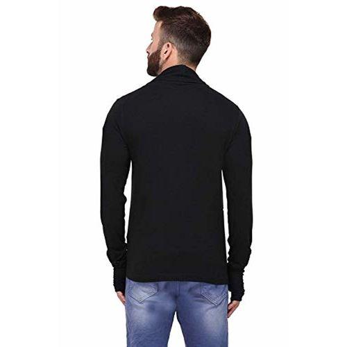DENIMHOLIC Black Full Sleeve Shrug