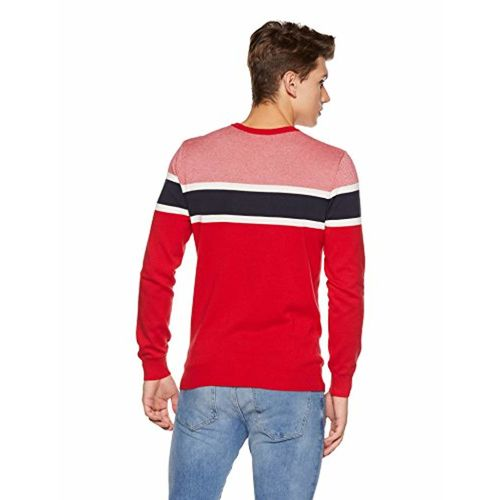 United Colors of Benetton Red Cotton Sweater