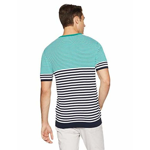 United Colors of Benetton Teal Cotton Sweater