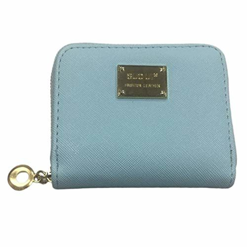 Fansport Womens Coin Wallet Mini Wallet Fashion Short Style Zipper Coin Purse