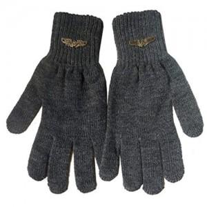 Gajraj Dark Grey Wool Winter Gloves