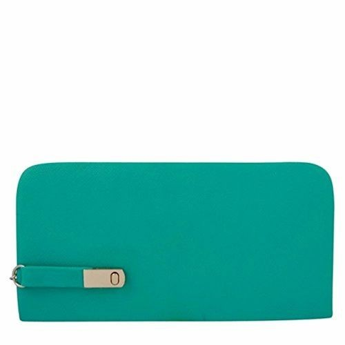 RASM LIFESTYLE Rasm Lifestyle Aqua Green Women's Wallet