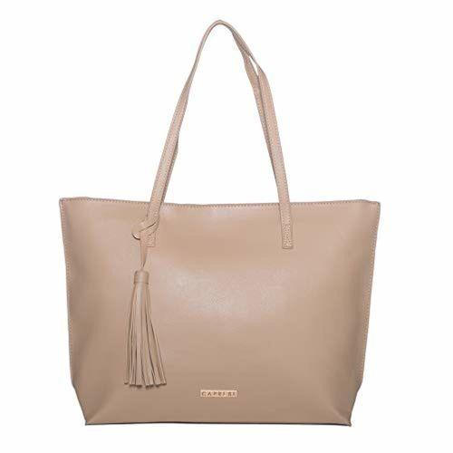 Caprese Vinci Women's Tote Bag (Beige)