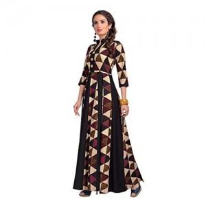 Madhuram Textiles MultiColour Rayon Printed Kurti
