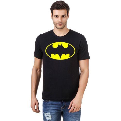 IRONGRIT Printed Men & Women Round Neck Black T-Shirt