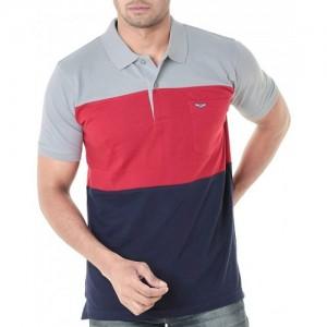 WEXFORD MultiColour Cotton Half Sleeves Polo Tshirt