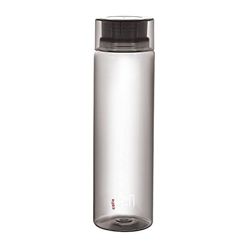 Cello Plastic Grey 1000ml H2O Unbreakable Bottle