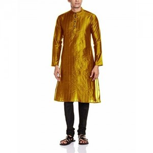 SVANIK Svanik Men's Knee Long Kurta