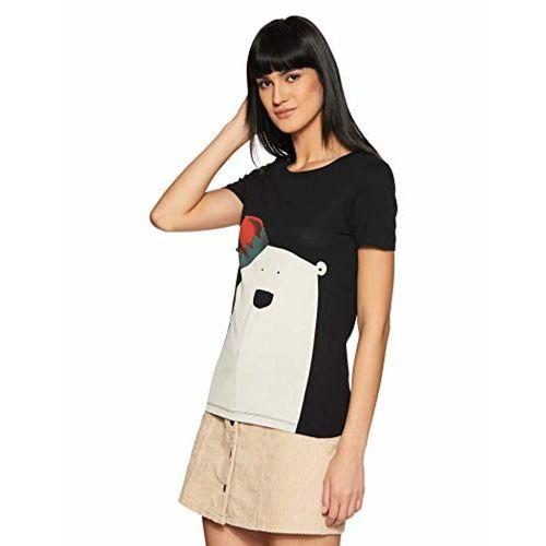 VERO MODA Women's Tribal Regular Fit Cotton Top