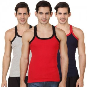 abd564f5f99 Buy Chromozome Men Pack of 3 Innerwear Vest WS21-3pc online ...