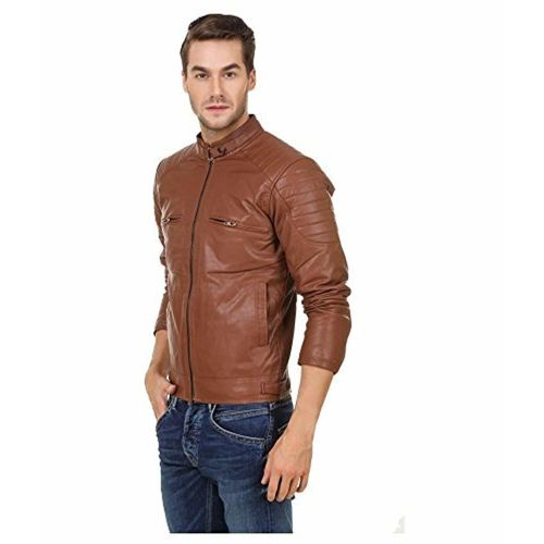 Leather Retail Men's Faux Leather Jacket