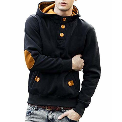 Seven Rocks Cotton Men's Hoodie Sweatshirt Jacket