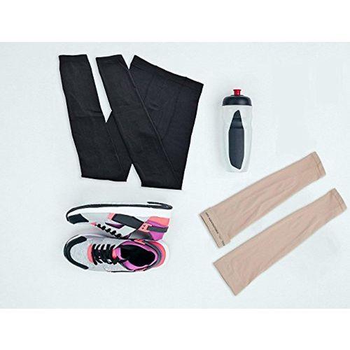 ... PINKIT UV Protection Cooling Arm Sleeves - UPF 50 Long Sun Sleeves for  Men   Women ... f51d5061b