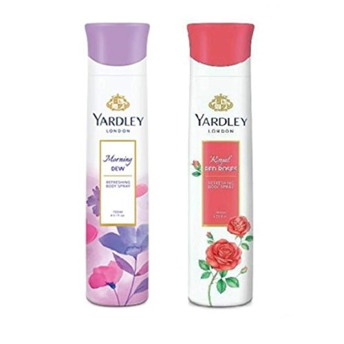 Yardley London Deodorant For Women Combo Pack 2 (150 ml)