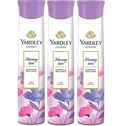 Yardley London Morning Dew Deodorant Combo  Pack of 3