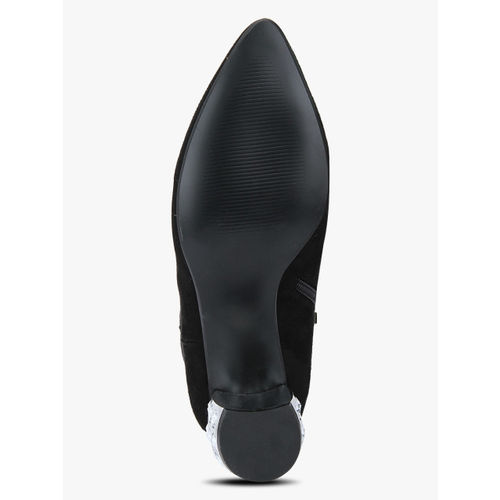 Carlton London Black Heels Boots