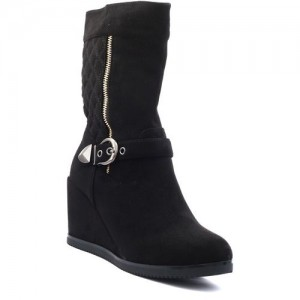 Shuberry Boots For Women(Black)