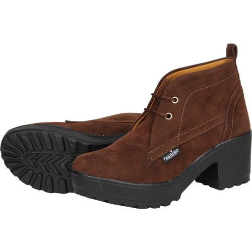 FASHIMO Women Casual Boots For Women(Brown)