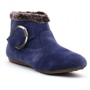 Shuberry Boots For Women(Blue)