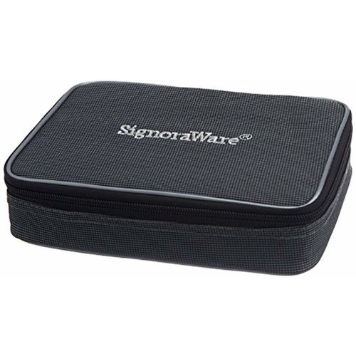 Signoraware Pink Plastic Compact Lunch Box Set, 850ml, 3-Pieces