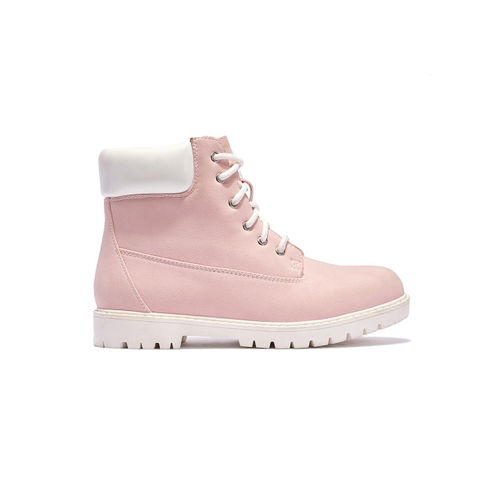 Truffle Collection Women Pink Boots