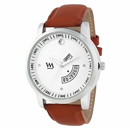 81a675b18160e Buy Watch Me Men s Leather White Analog Watch-DDWM-060 online ...