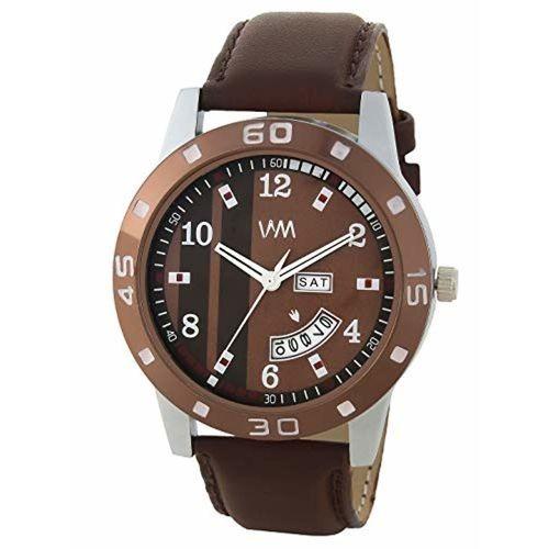 Watch Me Brown Leather Men's Watch DDWM-071