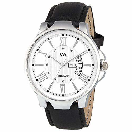 Watch DDWM-002 Black Round Leather Analog Watch
