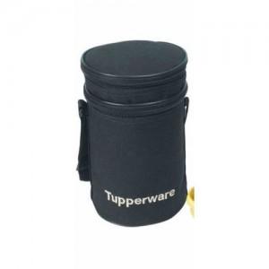 Tupperware Executive Plastic Lunch Bag, 1.5 Litres, Black