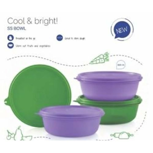 Tupperware Ss Bowl 600 ml (Set Of 4)