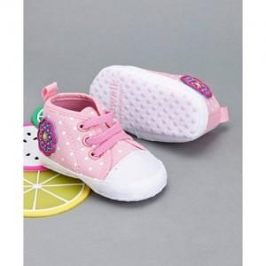 Cute Walk by Babyhug Booties - Pink