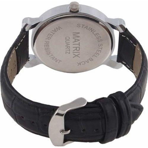 Matrix Analogue Silver Dial Men's Watch - WCH-50-RMN