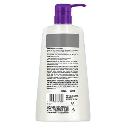 Dove Daily Shine 650 ml Shampoo