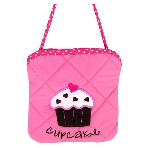 Little Pipal Cupcake Mini Tote Pink And Purple - 8 Inches