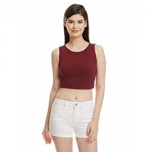 FabAlley Women's Crop T-Shirt
