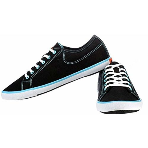 cbc1667fde Buy Sparx Men s Black and Sky Blue Casual Shoes (SM-283) online ...