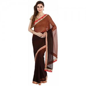 The Chennai Silks Georgette Saree with Blouse Piece