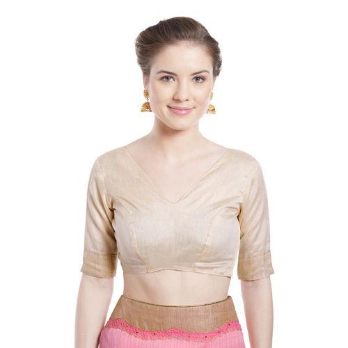 Indian Women Pink Pure Silk Embellished Saree