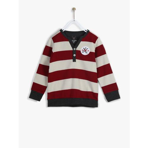 Allen Solly Junior Maroon Sweatshirt
