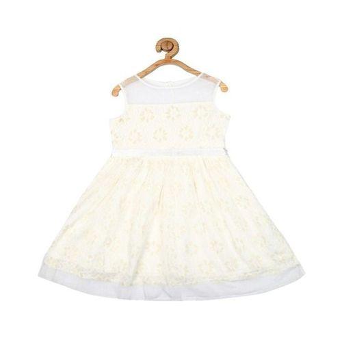 Allen Solly Junior Allen Solly Off White Lace Dress