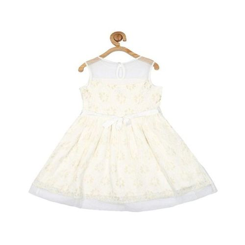 Allen Solly Junior Allen Solly Off White Lace Dress
