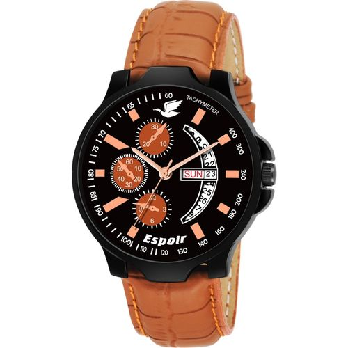 Espoir ES8855 DAY AND DATE FUNCTIONING Watch - For Men