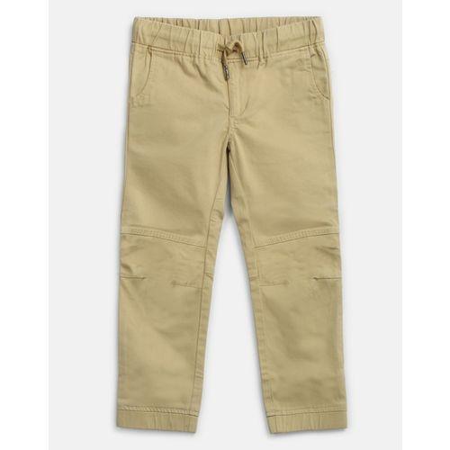 Provogue Beige Regular Fit Boys Trousers