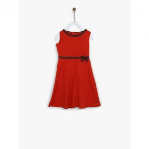 Allen Solly Junior Red Casual Dress