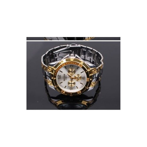 TRUE COLORS Silver Mens Quartz Watch