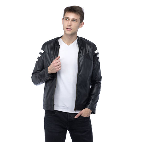 Lambency Men's Multicolor Biker Jackets