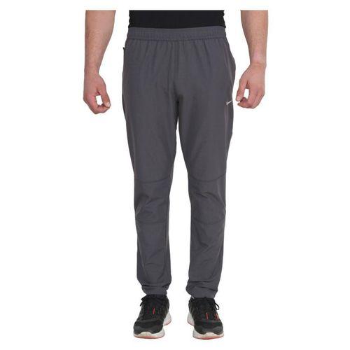 Nike Grey Polyester Lycra Track pants