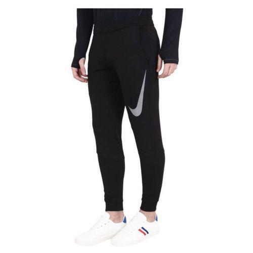 08f2f3326ff7b Buy Nike Black Polyester Lycra Track Pants online   Looksgud.in