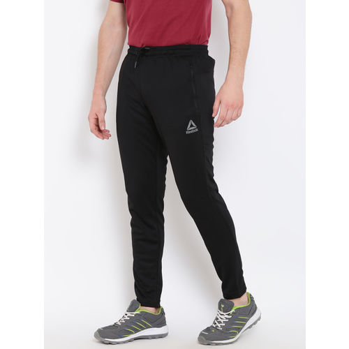 Buy Reebok Black Polyester Track pant