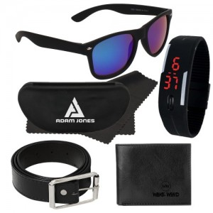 Adam Jones Adam Sunglasses with free Silicone digital LED band watch+Wallet+Belt